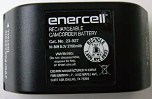 Rechargeable Camcorder Battery 6V 2700mAh VHS-C 8mm Ni-MH Battery - Again & Again RC6032 Arkor NP55 NP77 Batteries R Us C111188 C115188H C122188HH Batteries R Us C118789 C123690 C124690H Bell & Howell C124690H Bescor BP17H BP17NMH BP955 BP975 BP975XT Britek NP55 NP55G NP77 NP77G PTV877 Coast NP77H Dantona CAM10NMH CAM577H CAM694NMH DaDirect Power Plus DV8044 DV8066 DPV8066T DPV8077 DPV8088 Dual Voltage DV8044 DV8066 DV8066P DV8077 DVL5