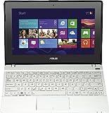 Asus F102BA-DF036H 28,2 cm (10,1 Zoll) Netbook (AMD A4 1200, 1,1GHz, 2GB RAM, 320GB HDD, AMD Radeon 8180G, Win 8, Touchscreen) weiss