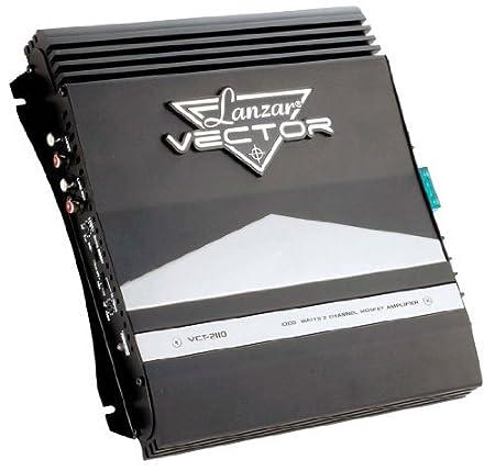 Lanzar VCT2110 Amplificateur haute puissance à Mosfet 2canaux pour voiture 1000W