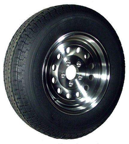 15″ x 6″ Aluminum Modular Trailer Wheel  bias