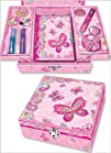 Pecoware  Create Your Own Secret Diary Set Fancy Butterfly