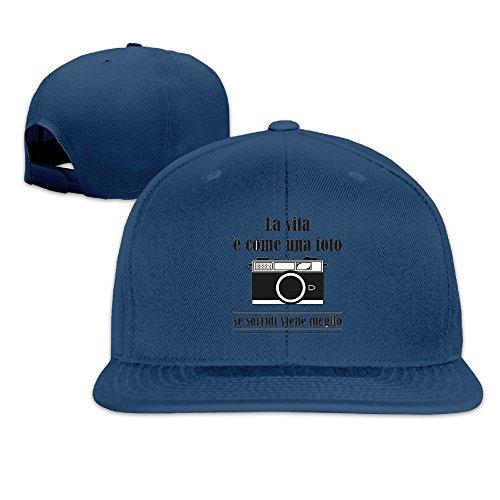 La Vita è Come Una Foto Cute Flat Bill Champion Sports Caps (Visor Fotos compare prices)