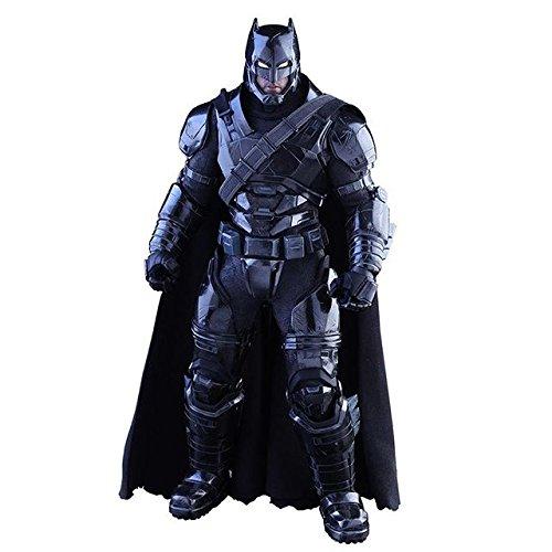Hot Toys Movie Master Piece Sixth Scale Figure : Batman vs Superman Dawn of Justice - Armored Batman Black Chrome Version