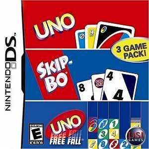 Amazon.com: Uno/Skip-Bo/Uno Freefall - Nintendo DS: Video Games