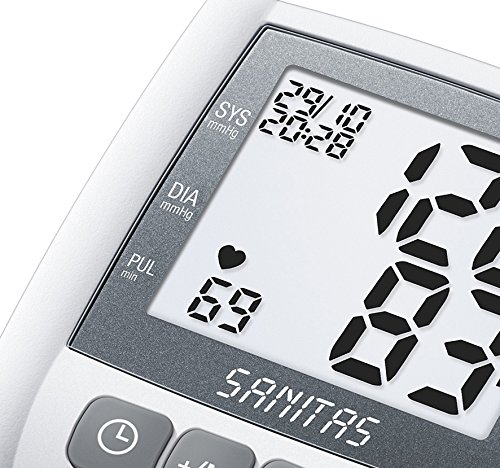 Sanitas SBC 21 - Handgelenk-Blutdruckmessgerät, grau - 5