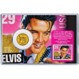 Elvis Presley Coin & Stamp Collectible Set