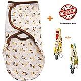 ★ Baby Pucksack aus 100% Baumwolle von Summer ★ kostenloser Schnullerkette ★ 21 verschiedene Motive ★