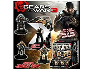 Gears of War Heroclix Counter Top Display of 24 Random Figures