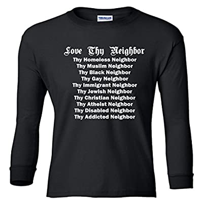 Love Thy Neighbor Equals Youth Long Sleeve T-Shirt