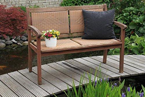 Sitzkissen Zierkissen für Lounge Gruppen und Gartenmöbel Struktur grau kaufen