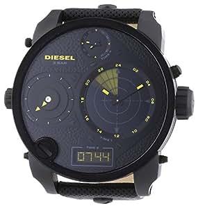Diesel - DZ7296 - Montre Homme - Quartz Analogique et digitale - Bracelet Cuir Noir