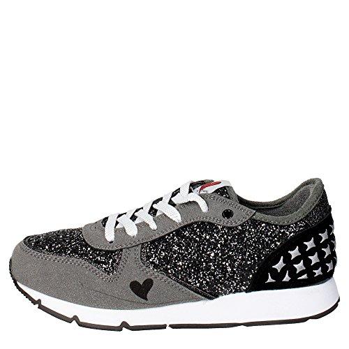 Sweet Years ASK501 Sneakers Bambina Camoscio/glitter Grigio Grigio 34