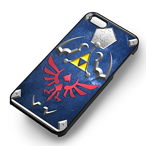 Hyrule Shield for Cover Iphone 6 and Cover Iphone 6s Case (Black Hardplastic Case) N2C3PY