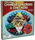 Checkers / Chinese Checkers ( Round Tin )