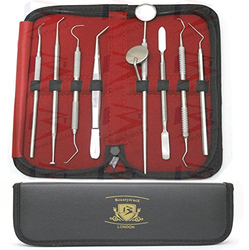 beautytrackr-pro-dental-hygiene-scalers-and-mirror-kit-set-10-pieces-comes-in-leather-case