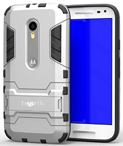 new products 6af6f b4cb2 Heartly Graphic Designed Stand Hard Dual Rugged Armor Hybrid Bumper Back  Case Cover For Motorola Moto G3 / Moto G 3rd Generation / Moto G Turbo - ...