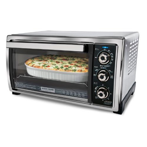 Black & Decker TO1006SC Convection Countertop Oven with Dual-Position Rack Slots