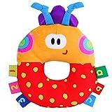 Juguetes Multicolor Mariquita Campanas Modelo Traqueteos de Felpa Bebés