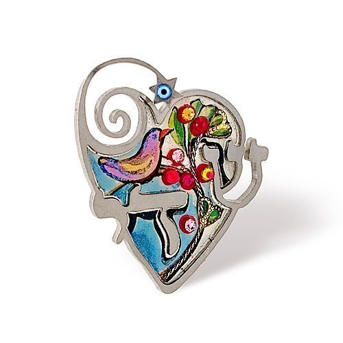 Shaday Judaic Pin from the Artazia Collection #315 JP HP OP