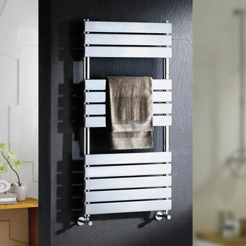 Sacramento Flat Panel Towel Radiator - 1200x600mm