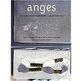 Anges : Motifs de broderie traditionnelle et au point de croixpar Agn�s Delage-Calvet