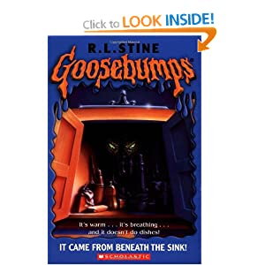 it came from beneath the sink goosebumps amazoncouk