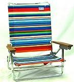 RIO Sand Chair 5 Position Lay Flat Caribbean Sky