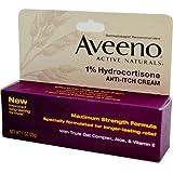 Aveeno 1% Hydrocortisone Anti, Itch Cream, Maximum Strength, 1 oz