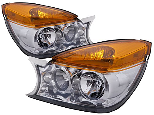Buick Rendezvous New Halogen-Type Headlights Set Headlamps Pair (1999 Taurus Headlight Assembly compare prices)