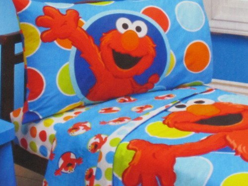 Elmo Sheets Full Street Elmo Toddler Sheet