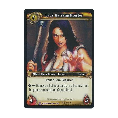 Amazon.com: World of Warcraft TCG - Lady Katrana Prestor - Archives