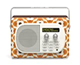 Pure Evoke Mio by Orla Kiely Clementine Edition DAB Digital/FM Radio
