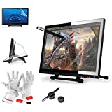Ugee® UG-2150 21.5 Inch Pen Graphics Tablet Monitor for Drawing Painting with Screen Protector & Pergear® Clean Kit
