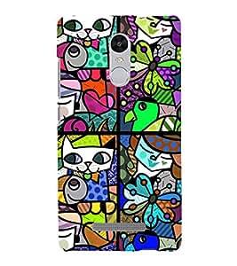 ifasho Designer Phone Back Case Cover Xiaomi Redmi Note 3 :: Xiaomi Redmi Note 3 Pro :: Xiaomi Redmi Note 3 MediaTek ( Skull Look Rock Star Look Theme )