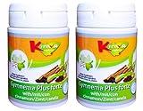KinwaNatura Gymnema Plus forte (mit Zimt) 1.200mg - Blutzucker Formel - 2X60 Tabletten