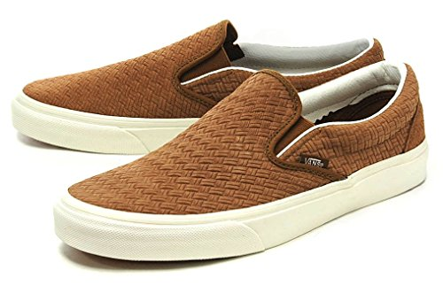 [バンズ] VANS CLASSIC SLIP-ON (BRAIDED SUEDE)DACHSHUND スリッポン vn0003z4inz 28.0cm