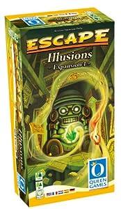 Queen Games 61031 - Escape Erweiterung 1, Illusions