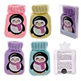 Pack of two penguin design hand warmers ideal stocking filler