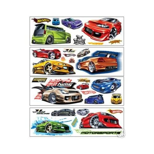 hot wheels wall stickers 32 hot wheel decals peel and hot wheels wall stickers 32 hot wheel decals peel and