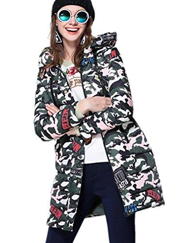 XYXY Cappotto lungo di donne inverno Down Jacket . xxxxl