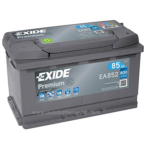 exide premium carbon boost ea852 85ah 12v 800a. Black Bedroom Furniture Sets. Home Design Ideas