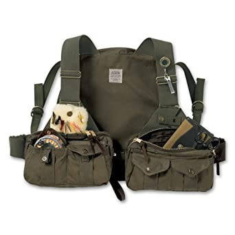 Filson 16002 Cover Cloth Fly Fishing Vest by Filson