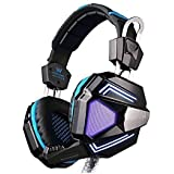 PYRUS EACH G9000 Gaming Headphone USB Surround Sound Version PC Headset Earphone Headband With Microphone LED...