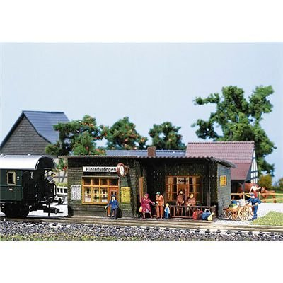HALTEPUNKT STATION - FALLER HO SCALE MODEL TRAIN ACCESSORIES 110091