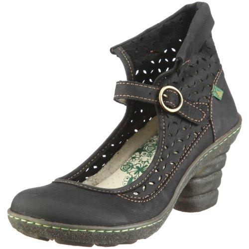 El Naturalista Women's N767 Platform Heel Ebano 7 UK