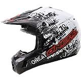 O'Neal 312 MX Kids Helmet Toxic black/white (Head circumference: 47-48 cm)