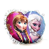 Disney Frozen Heart Pillow Elsa and Anna