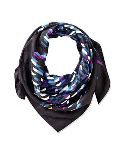 Kate Spade Saturday Women's Silk Triangle Scarf, Shifting Shapes