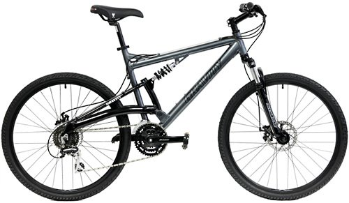 Gravity FSX 1.0 Dual Full Suspension Mountain Bike Shimano S