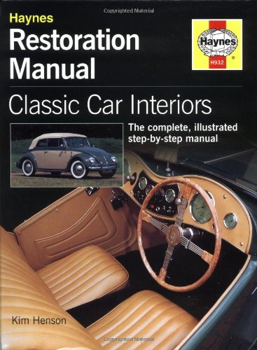 classic car interior restoration manual haynes restoration manuals at virtual parking store. Black Bedroom Furniture Sets. Home Design Ideas
